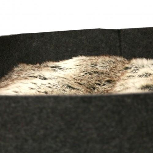 Panier et coussin pour chien - Corbeille feutrine Nuuk pour chiens