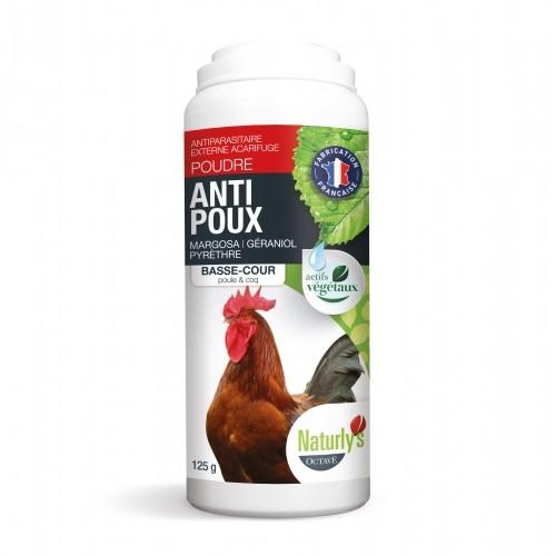 Antiparasitaire pour poule - Poudre Anti-Poux pour poules