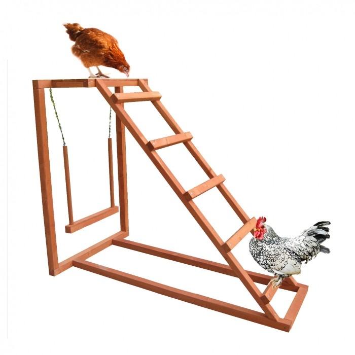 Poulailler et enclos - Aire de jeu Chicken Activity pour poules