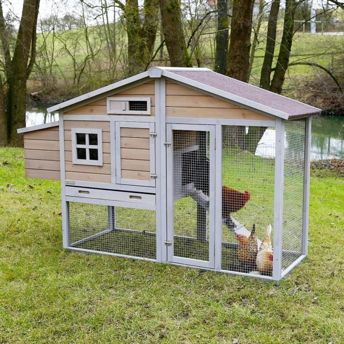 Poulailler et enclos - Poulailler Bonny pour poules