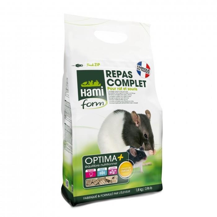 Aliment pour rongeur - Optima + Rat et Souris pour rongeurs