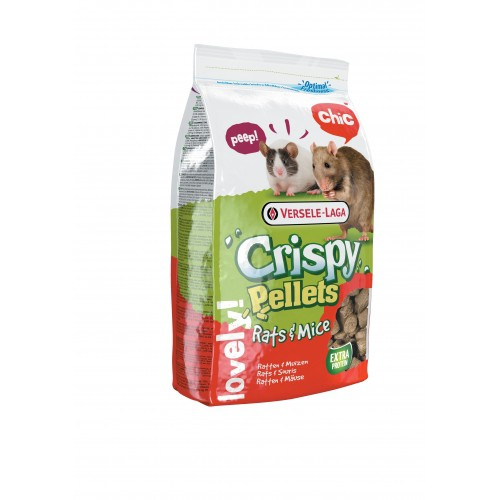 Autre : souris, octodon, gerbille - Crispy Pellets Rats & Mice pour rongeurs