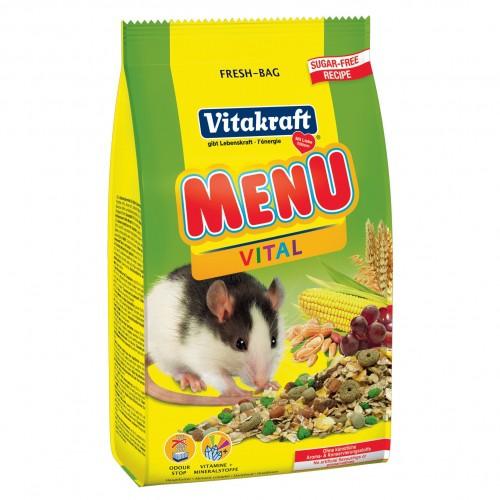 Aliment pour rongeur - Menu Vital Rat pour rongeurs