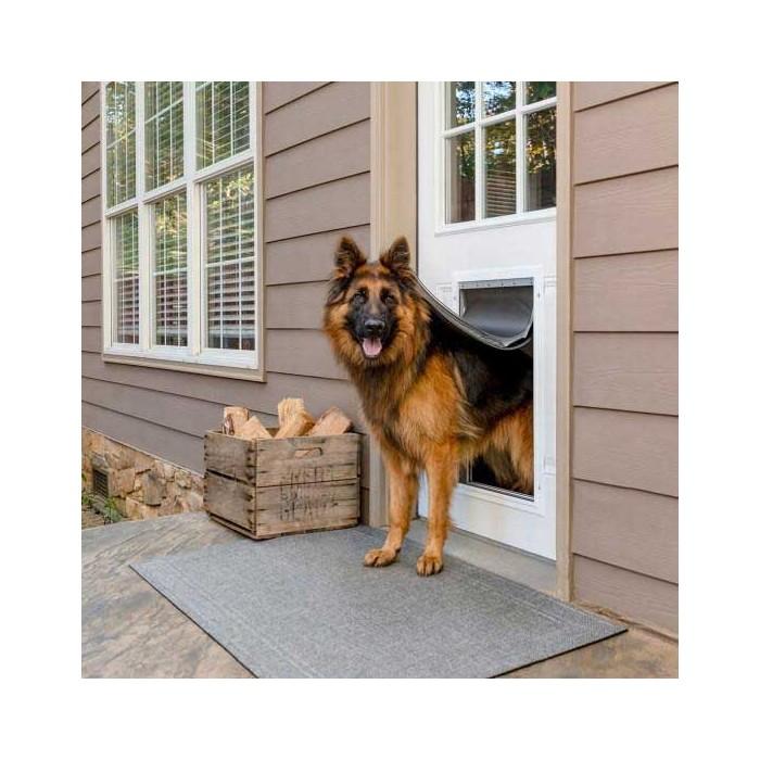 Sécurité et protection - Chatière Ultra Isolante Aluminium pour chiens