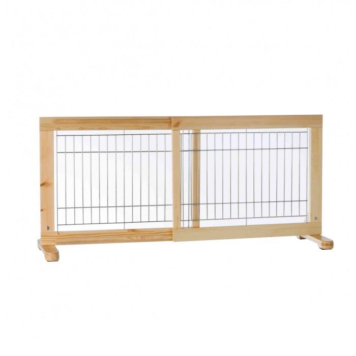 Sécurité et protection - Barrière extensible en bois pour chiens