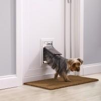Chatière manuelle pour chat et chien - Porte Staywell Aluminium Petsafe