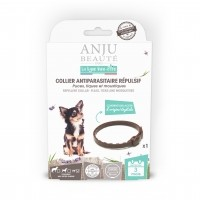 Collier insectifuge pour chien - Collier antiparasitaire répulsif chien Anju Beauté Paris