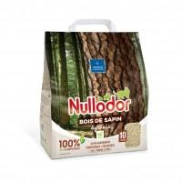 Litière végétale pour chat - Litière 100% naturelle - Bois de sapin Nullodor