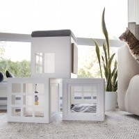 Couchage pour chat - Maison Katt3 Be One Breed