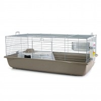 Cage pour lapin et cobaye - Cage Nero 4 Deluxe Savic