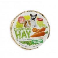 Foin pour lapin et rongeurs - Palet de foin compressé Tyrol