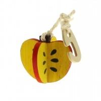 Jouet pour rongeur - Pomme à suspendre Tutti Woody Tyrol