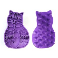 Toilettage pour chat - Brosse massante Groom Cat  KONG