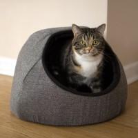 Dôme et maison pour chat - Igloo Tweed