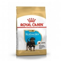 Croquettes pour chien - Royal Canin Rottweiler Puppy Rottweiler Junior