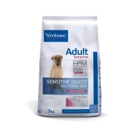 Croquettes pour chien - VIRBAC VETERINARY HPM Physiologique Adult Sensitive Digest Neutered Dog Medium & Large Adult Sensitive Digest Neutered Dog Medium & Large