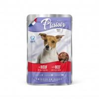 Sachet fraîcheur pour chien - REPAS PLAISIR Adulte - Emincés en sauce - Lot 22 x 100 g Repas Plaisir
