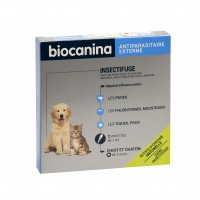 Antiparasitaire pour chiot et chaton - Pipettes Insectifuge naturel pour chiot et chaton Biocanina