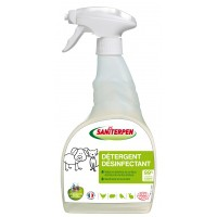 Entretien des sols et surfaces lavables - Détergent désinfectant spray Saniterpen