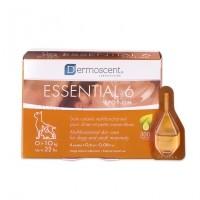 Soin cutané monodose multifonctionnel - Pipettes Essential 6 spot-on Dermoscent