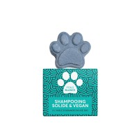 Shampooing solide pour chien et chat - Shampooing solide Poils blancs Naiomy