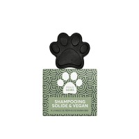 Shampooing solide pour chien et chat - Shampooing solide Poils noirs Naiomy