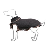 Manteau pour chien - Manteau Tartan - Noir Bobby