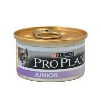 Pâtée en boîte pour chaton - Proplan Junior - Lot 24 x 85g  Junior - Lot 24 x 85g