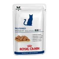 Sachet fraîcheur pour chat - ROYAL CANIN Neutered Weight Balance - Lot 12 x 100 g