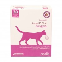 Aliment complémentaire pour chat - Easypill Chat Gingiva Osalia