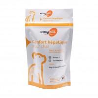 Aliment complémentaire diététique pour chat - Easypill Insuffisance Hépatique Chat Osalia