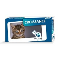 Complément minéral et vitaminé - Pet-Phos Félin Croissance Ceva