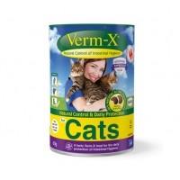Friandise hygiène intestinale pour chat - Verm-X pour chat Demavic