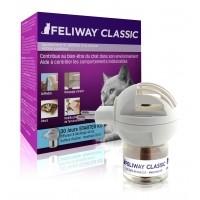Anti-stress pour chat - Feliway® Classic diffuseur + recharge (kit complet) Ceva