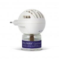 Anti-stress pour chat - Feliway® Optimum diffuseur + recharge (kit complet) Ceva