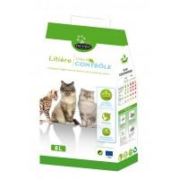 Litière végétale pour chat - Litière Odeur Contrôle Octave