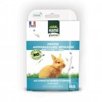 Antiparasitaire pour lapin - Pipettes Antiparasitaires Répulsives Bio - Lapin Hamiform