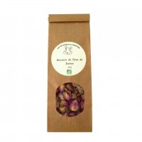 Friandise pour chinchilla - Boutons de Rose de Damas Bio Chinchilla du terroin