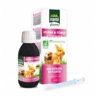 Complément alimentaire pour lapin et rongeur - Complexe Forme et Tonus BIO Hamiform