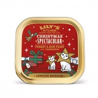 Pâtée en barquette pour chat - Lily's Kitchen Pâtée de Noël
