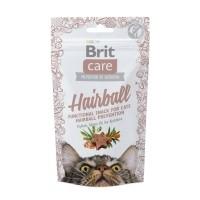 Friandises pour chat - Snack Hairball, prévention des boules de poils Brit Care