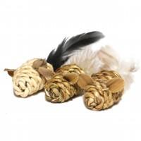 Jouets pour chat - Mini souris à plumes