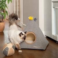 Maison pour chat - Tipi Piramido Designed by Lotte