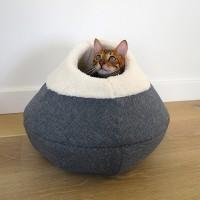 Dôme et panier pour chat - Nid Cosy Rosewood