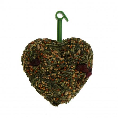 Friandise et complément  - Coeur à la cerise pour rongeurs