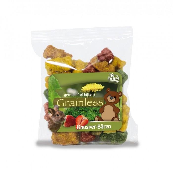 Friandise et complément  - Ourson en herbes pour rongeurs