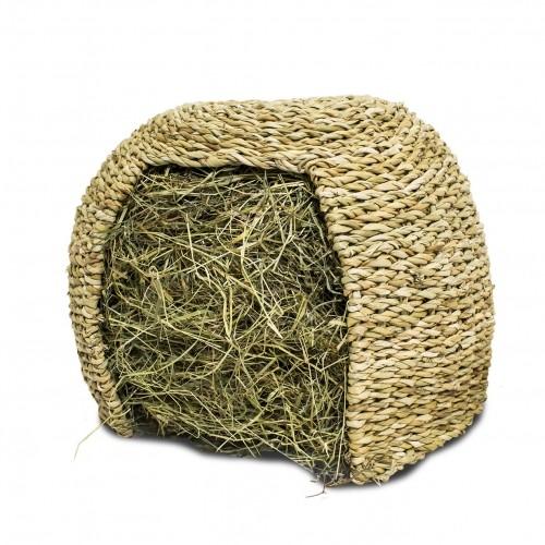 Couchage et habitat rongeur - Igloo de foin JR Farm pour rongeurs