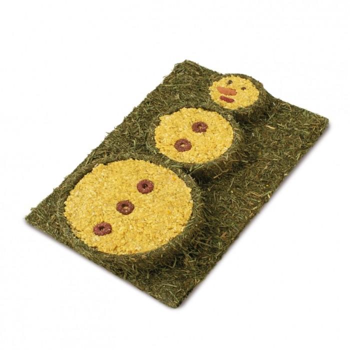 Friandise et complément  - Tapis végétal Snowman pour rongeurs