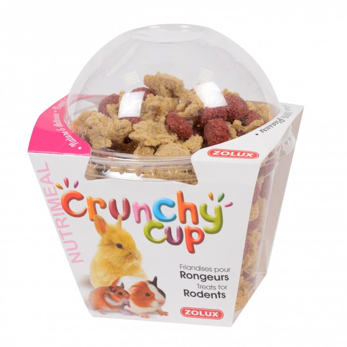 Friandise et complément  - Crunchy Cup pour rongeurs