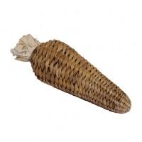 Jouet pour rongeur - Carotte en feuilles de bananier Rosewood